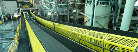 Diacon Conveyor Safety Guards and Hungry Boards