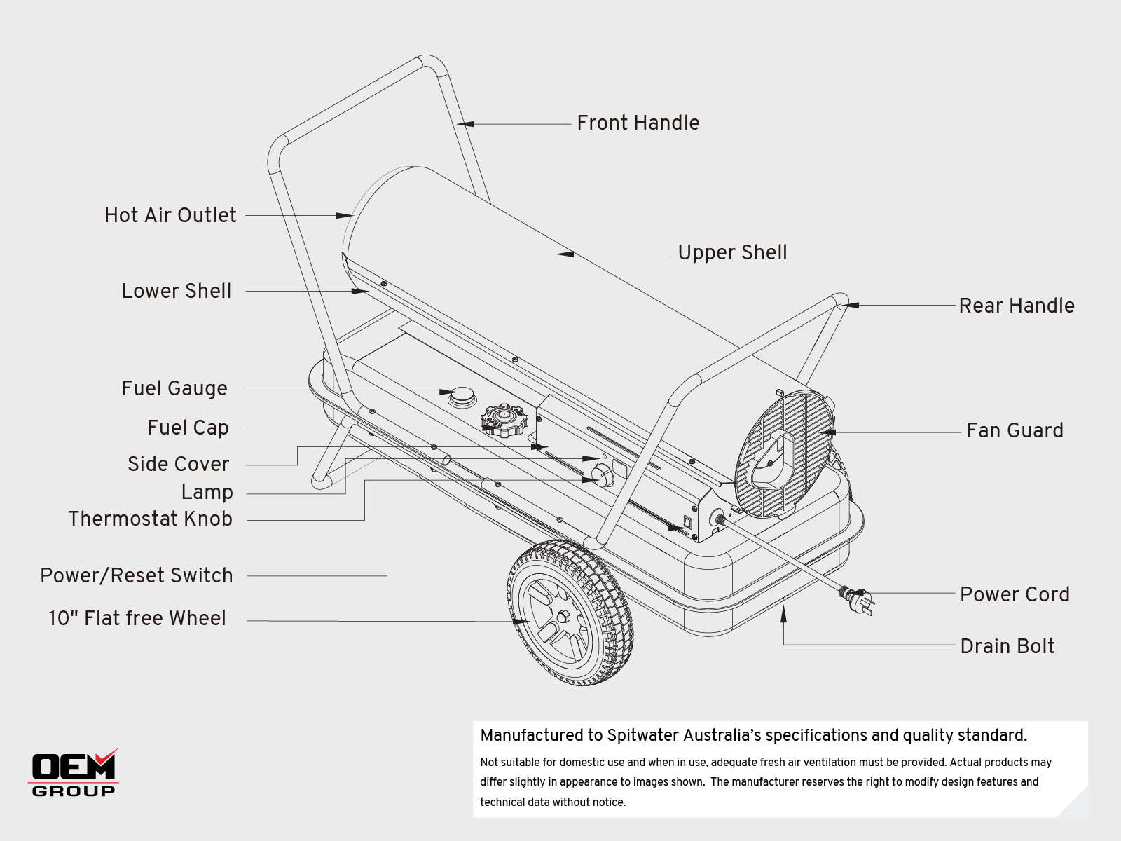 DC50 Manual Outline Diagram