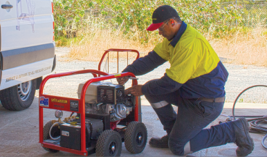 Pressure Cleaner Servicing
