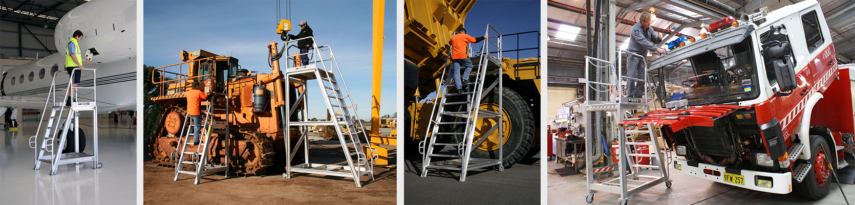Steprite Access Platform Across Use in Various Industries