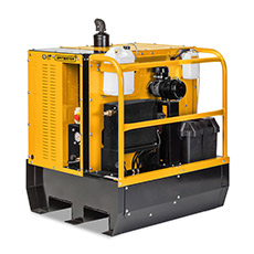 Spitwater Diesel Pressure Cleaner on White Background