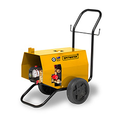 Spitwater Electric Pressure Cleaner on White Background