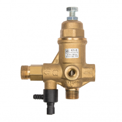 IPA135/C3 Pressure Regulator w/Chemical Injector Back