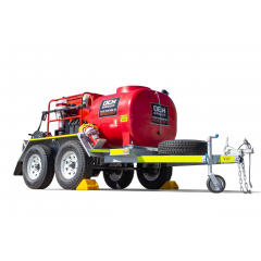 Hottie V Spitwater Pressure Cleaning Trailer Product Shot White Background