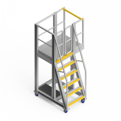 OEM00171 Cyclone Screen Safety Access Platform