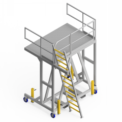 OEM00409 Conveyor Feed Safety Access Platform
