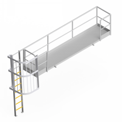 OEM00416  Chute Cover Safety Access Platform