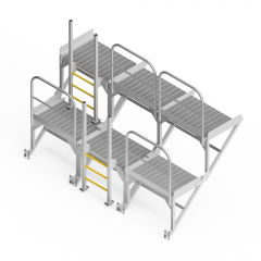 OEM00536 Product Screen Rollout Chute  Safety Access Platform
