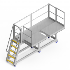 OEM00563 Scalping Screen Safety Access Platform