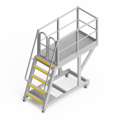 OEM00641 Crusher Mantle Safety Access Platform