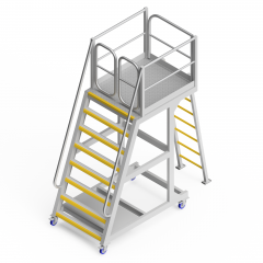 OEM00650 Secondary Crusher Bowl Safety Access Platform