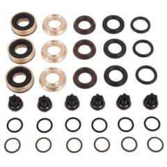 Interpump Kit 220 3x complete 20mm seal assemblies 6x suction/delivery valves
