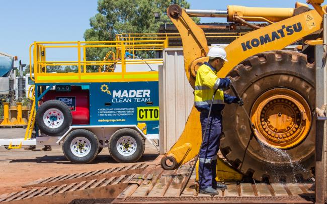 Mader Pressure Cleaning Trailer Cleaning Equipment