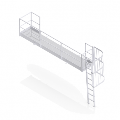 Chute Cover Access Platform