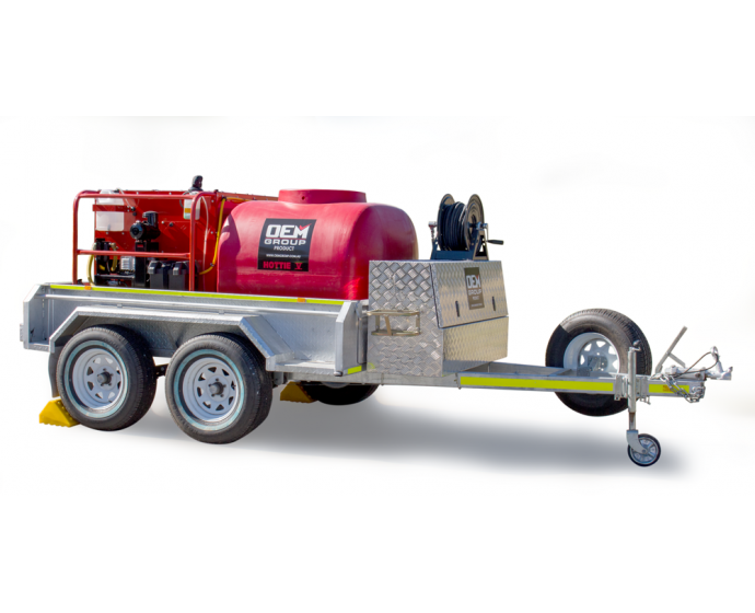 Hottie V Spitwater High Pressure Cleaning Trailer