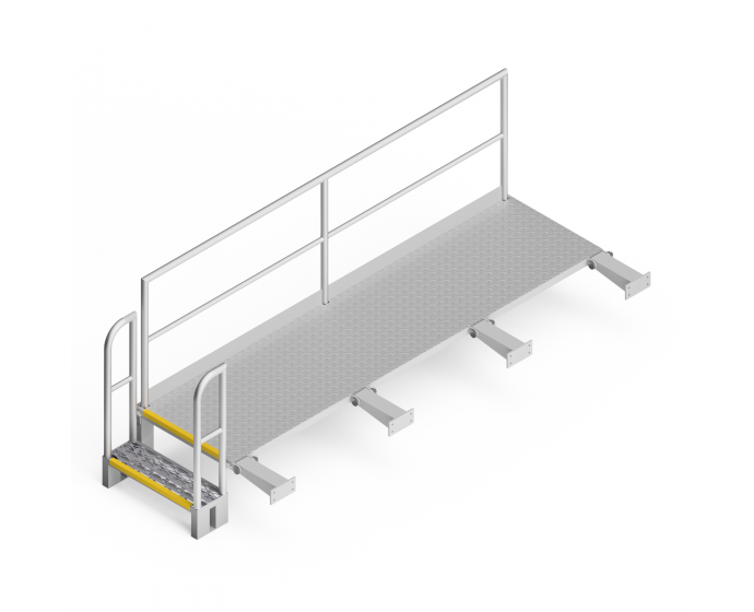 OEM00227 Reclaimer Side Safety Access Platform