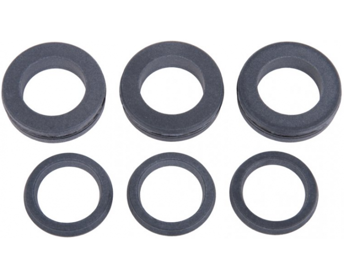 Interpump Kit 202 22mm water seal set of 3