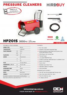 Spitwater HP201S_Product Flyer