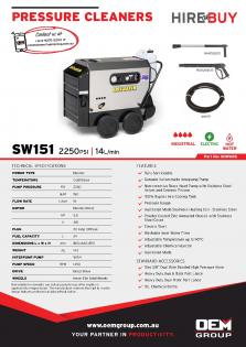 Spitwater SW151_Product Flyer