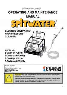USER MANUAL-SCW85 & SCW86 Rev-C-1_0