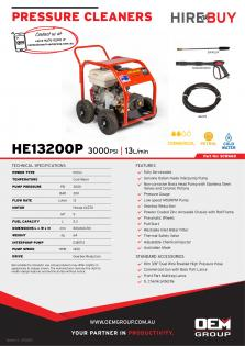 Spitwater HE13200P_Product Flyer